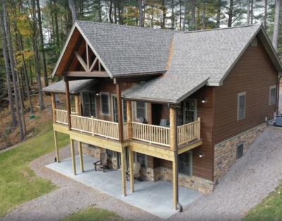 Adirondack Lodge on Spectacular Waterfront